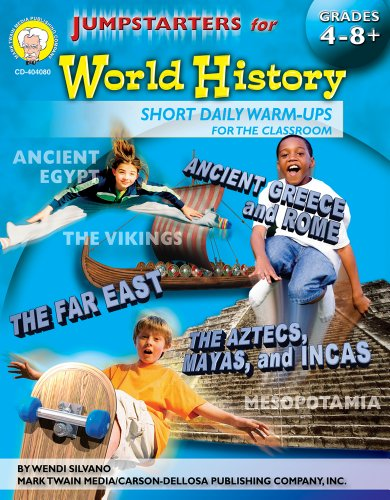 9781580374323: Jumpstarters for World History, Grades 4 - 8