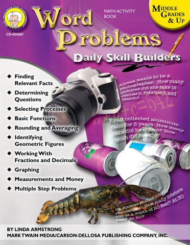 9781580374460: Daily Skill Builders: Word Problems, Middle Grades & Up