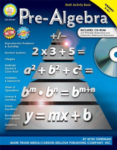 9781580374767: Pre-Algebra, Grades 5 - 12