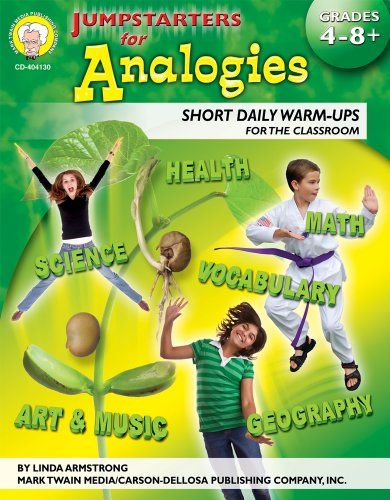 9781580375337: Jumpstarters for Analogies, Grades 4 - 8