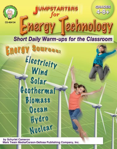 9781580375603: Jumpstarters for Energy Technology, Grades 4 - 12