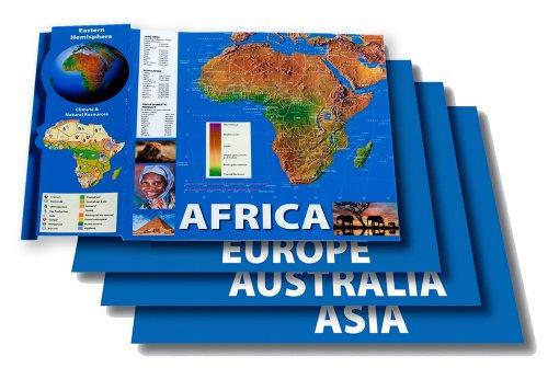 9781580375665: Eastern Hemisphere Maps Bulletin Board Set