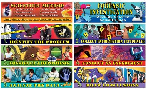 9781580375924: Forensic Lab Tools Topper Mini Bulletin Board Set
