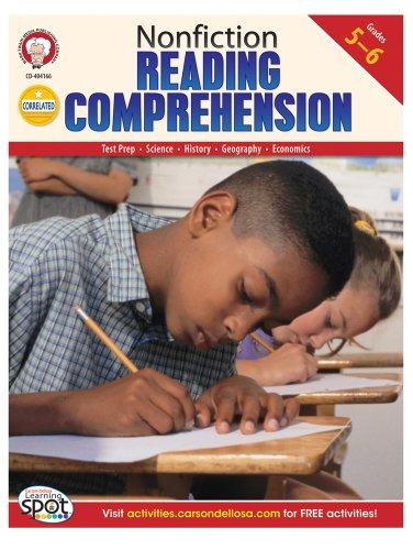 Nonfiction Reading Comprehension, Grades 5 - 6: Cameron, Schyrlet