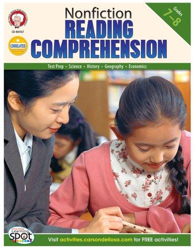 9781580376167: Nonfiction Reading Comprehension, Grades 7 - 8