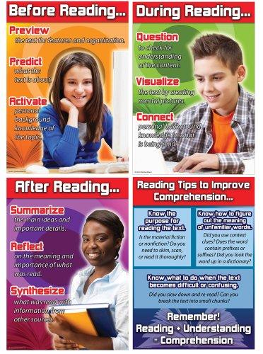 9781580376365: Reading Comprehension Bulletin Board Set