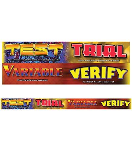 9781580376464: Scientific Inquiry Vocabulary Words Straight Borders
