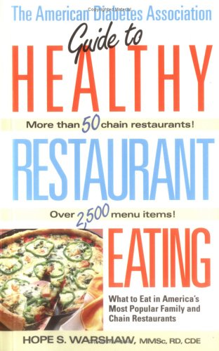 1999 Guide to Healthy Restaurant Eating : Hope Warshaw