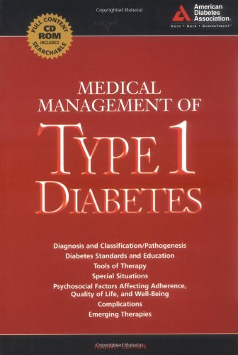 9781580401883: Medical MAnagement of Type 1 Diabetes