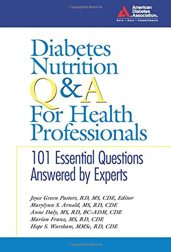 9781580401999: Diabetes Nutrition Q&A for Health Professionals