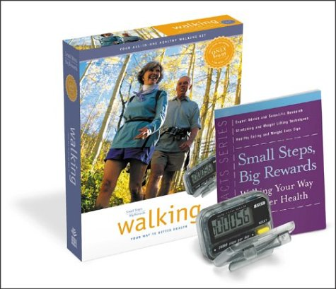 9781580402118: Small Steps, Big Rewards : Walking Your Way to Better Health