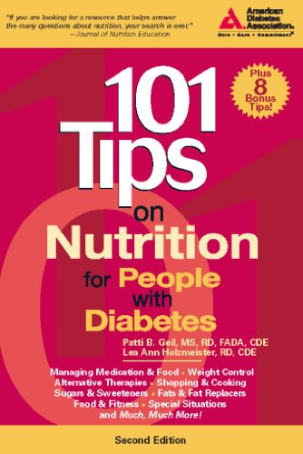 9781580402545: 101 Tips on Nutrition for People with Diabetes (101 Tips Series)