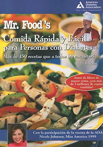9781580402620: Mr. Food's Comida Rápida y Fácil para Personas con Diabetes (Spanish Edition)