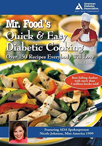 9781580402712: Mr. Food's Quick and Easy Diabetic Cooking