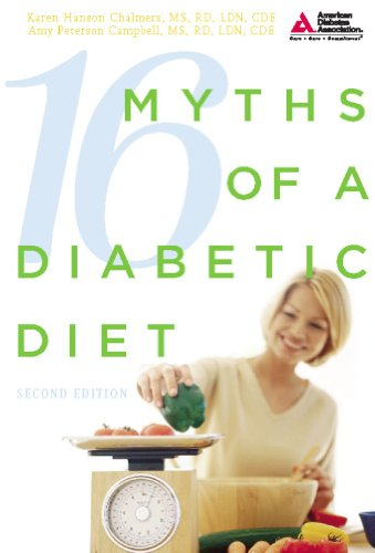 9781580402873: 16 Myths of a Diabetic Diet