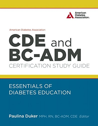 9781580405683: American Diabetes Association CDE and BC-ADM Certification Study Guide: Essentials of Diabetes Education