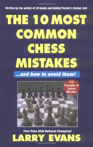 9781580420099: The Ten Most Common Chess Mistakes