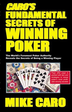 9781580420808: Caro's Fundamental Secrets of Winning Poker