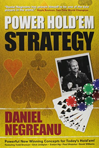 9781580422048: Daniel Negreanu's Power Hold'em Strategy