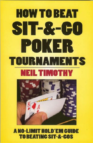 9781580422239: How to Beat Sit 'n' Go Poker Tournaments