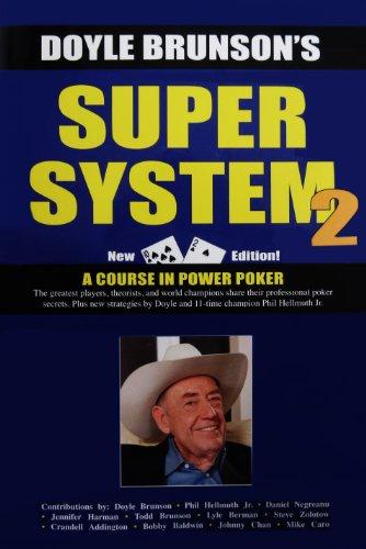 Doyle Brunsons Super System 2 - A Course in Power Poker - Casino Supplies > Books: Brunson Doyle
