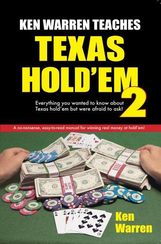 9781580422543: Ken Warren Teaches Texas Hold'em, Volume 2