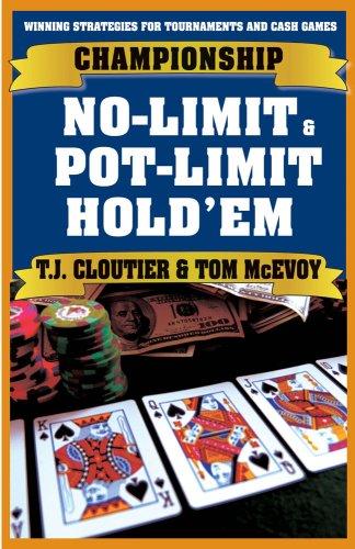 9781580422581: Championship No-Limit & Pot-Limit Hold'em