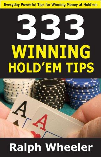 9781580422604: 333 Winning Hold'em Tips