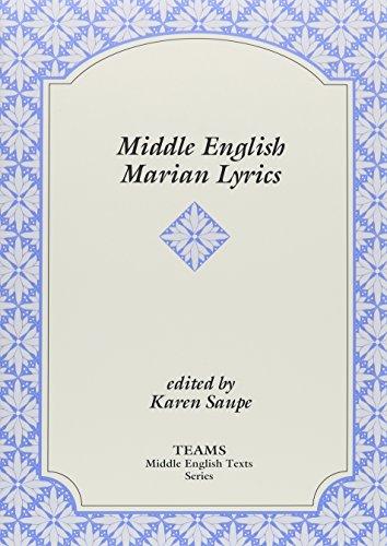 9781580440066: Middle English Marian Lyrics (TEAMS Middle English Texts)