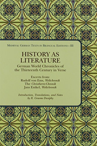 History as Literature: German World Chronicles of