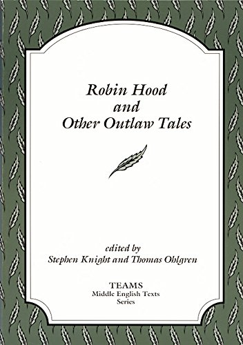9781580440677: Robin Hood and Other Outlaw Tales (TEAMS Middle English Texts, Kalamazoo)