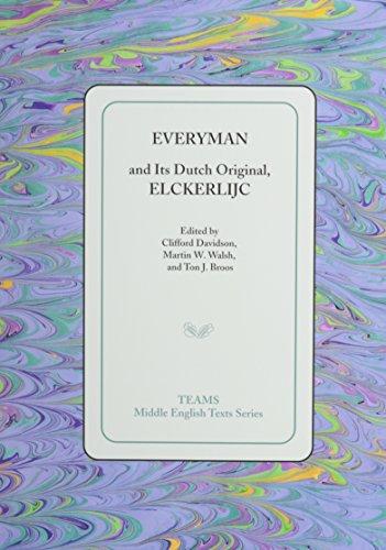 9781580441063: Everyman and Its Dutch Original, Elckerlijc (Middle English Texts)