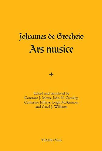 Ars Musice (Teams . Varia): Grocheio, Johannes de