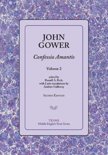 9781580441797: Confessio Amantis, Volume 2 (Middle English Texts)