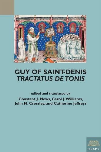 Guy of Saint-Denis: Tractatus de tonis (Teams Varia): Constant J Mews