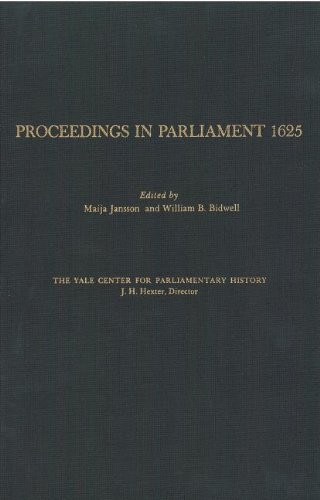 Proceedings in Parliament 1625, volume 1 (Hardback)