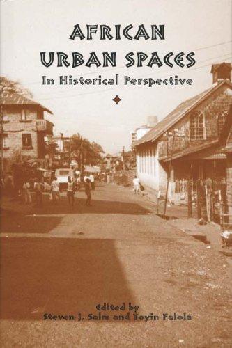 African Urban Spaces in Historical Perspective (Rochester: Janet Bertsch, Steven