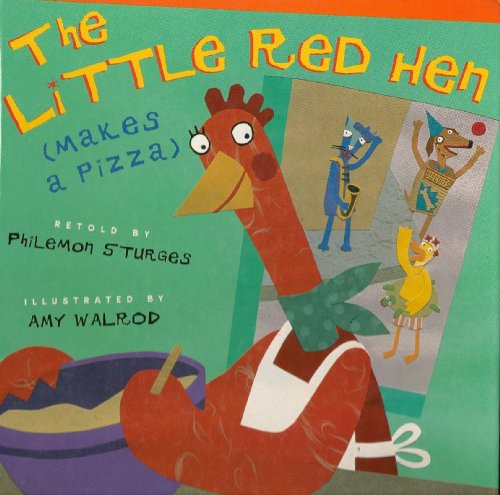 9781580483285: The Little Red Hen makes a pizza