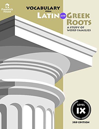 9781580492027: Vocabulary from Latin and Greek Level IX