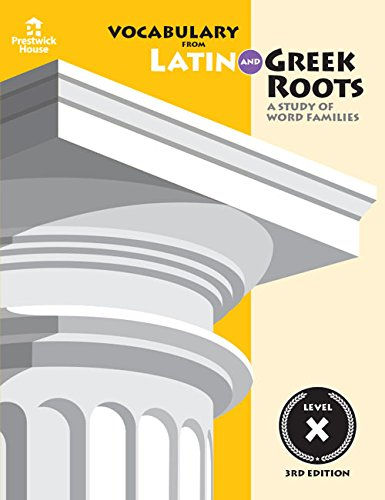 9781580492065: Vocabulary from Latin and Greek Roots: Book Four