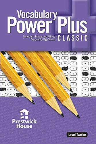Vocabulary Power plus for the New Sat: Reed, Daniel A.