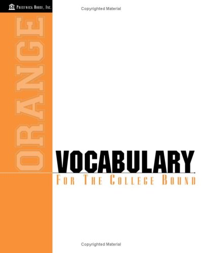 9781580492584: Vocabulary for the College Bound: Orange