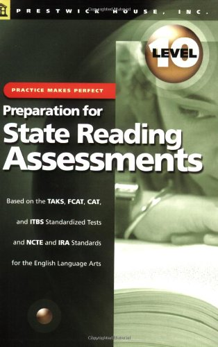 9781580493192: Practice Makes Perfect: Preparation for State Reading Assesments Level 10