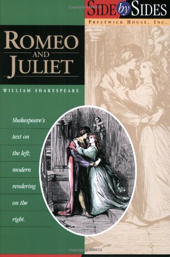 9781580495172: Romeo and Juliet: Side by Side (Side By Sides)