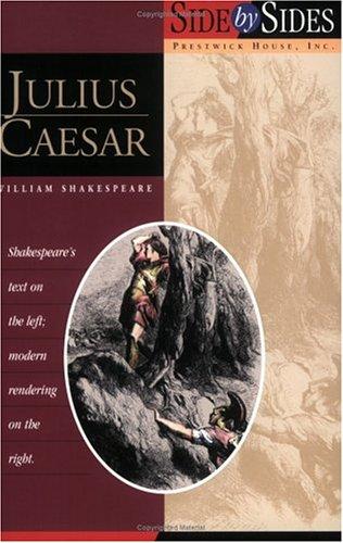 9781580495196: Julius Caesar (Prestwick's Side by Sides)