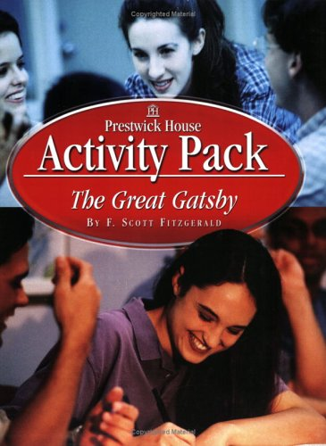 The Great Gatsby Activity Pack: F. Scott Fitzgerald