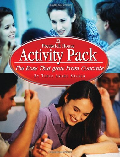 9781580497725: The Rose That grew From Concrete - Activity Pack