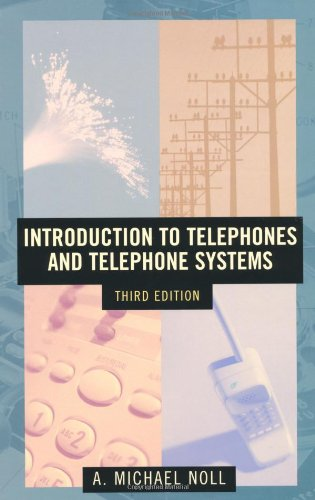 Introduction to Telephones and Telephone Systems (Artech
