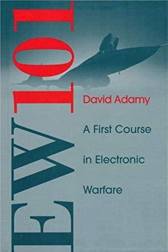 9781580531696: Ew 101: A First Course in Electronic Warfare (Artech House Radar Library)