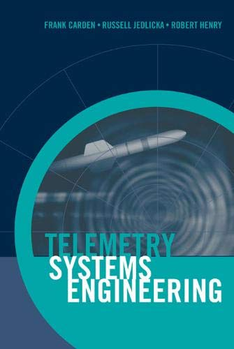 9781580532570: Telemetry Systems Engineering (Artech House Telecommunications Library)